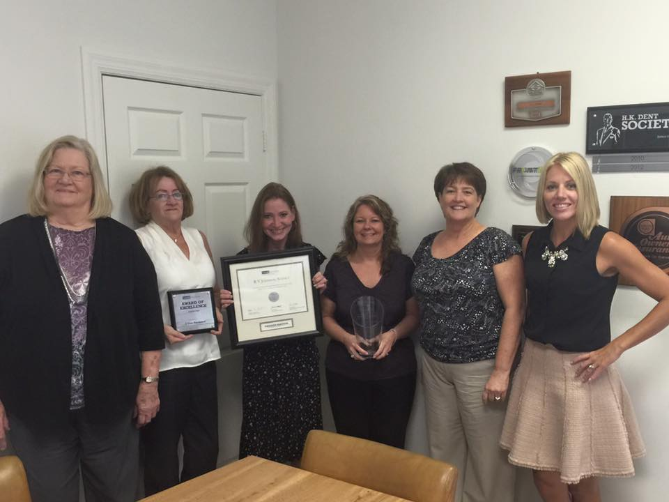 RV Johnson receives Safe Award for Excellence