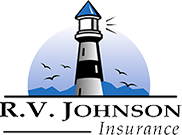 RV Johnson Insurance Logo